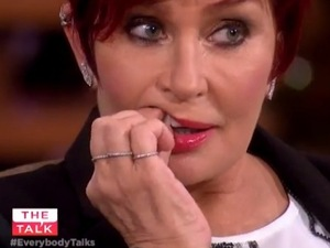 Sharon Osbourne's tooth falls out on live on The Talk - 16 December.