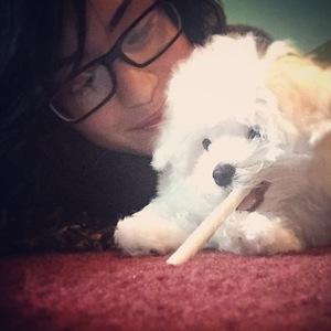 Demi Lovato and new puppy Buddy