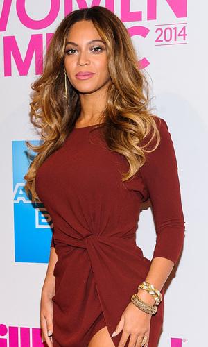 Beyoncé attends the Billboard Women In Music Luncheon in New York, America - 12 December 2014