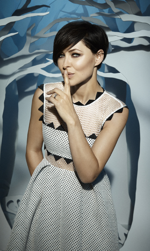 Emma Willis, Celebrity Big Brother 2015 promo shots 16 December