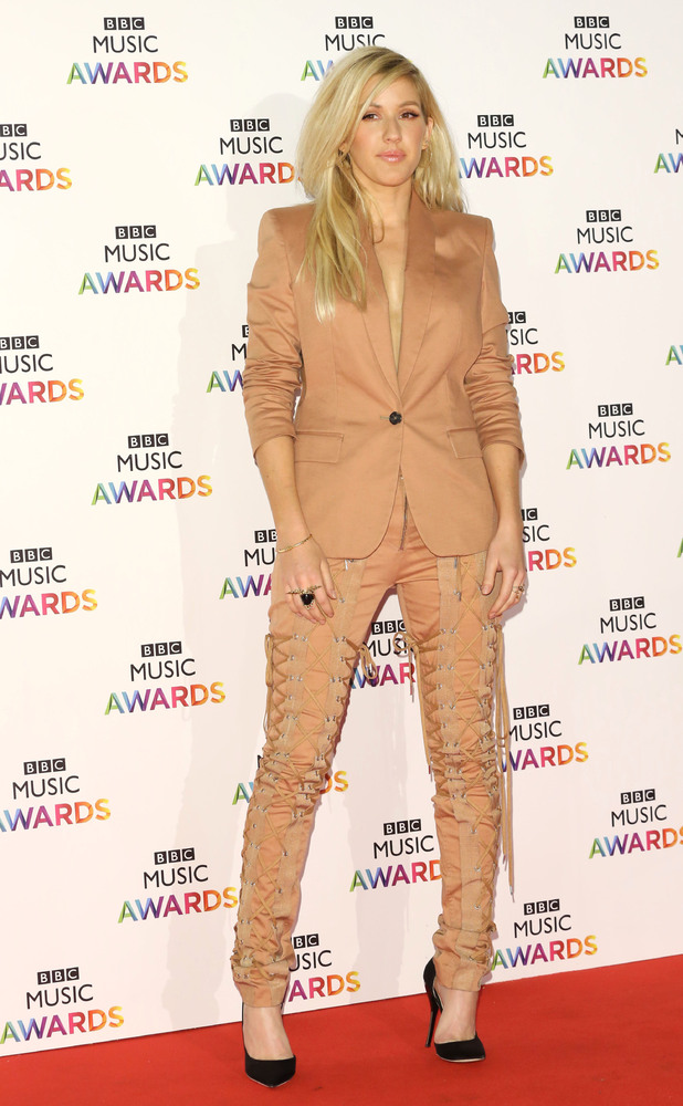 Ellie Goulding The BBC Music Awards 2014 held at Earls Court - Arrivals
