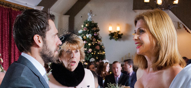 Emmerdale, Bernice tries to marry Andy, Thu 25 Dec