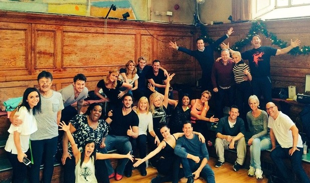 Strictly Come Dancing cast in last rehearsal ahead of final 18 December