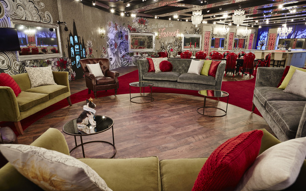Living Area, Celebrity Big Brother House January 2015 Channel 5