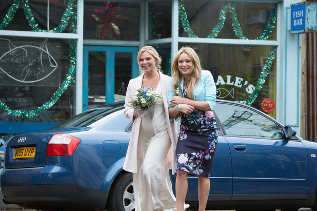 EastEnders, Ronnie and Charlie's wedding day, Thu 1 Jan