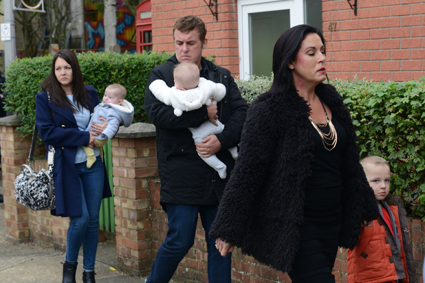 EastEnders, The Moons are homeless again, Tue 16 Dec