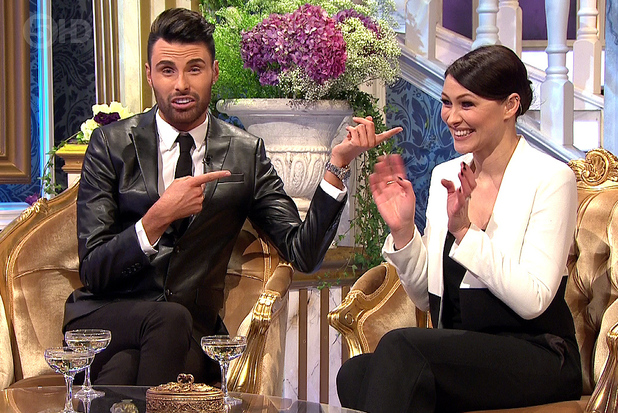 Rylan Clark and Emma Willis, Celebrity Big Brother's Bit On The Side 30 January 2014