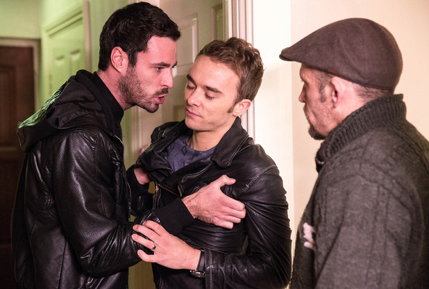 Corrie, David confronts Callum, Fri 2 Jan