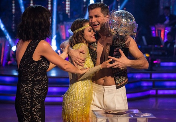 Caroline Flack and professional partner Pasha Kovalev win Strictly 2014, 20 December 2014