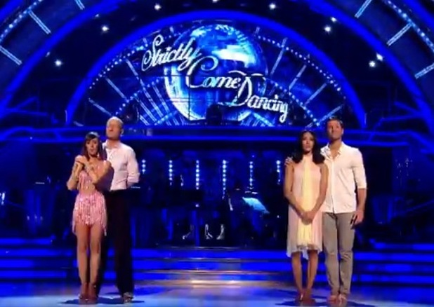 Mark Wright and Jake Wood in Strictly dance off, BBC One 14 December