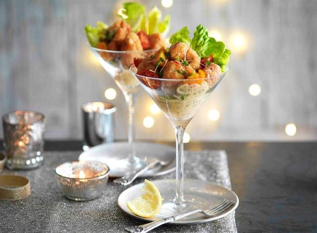 Crispy lobster cocktail