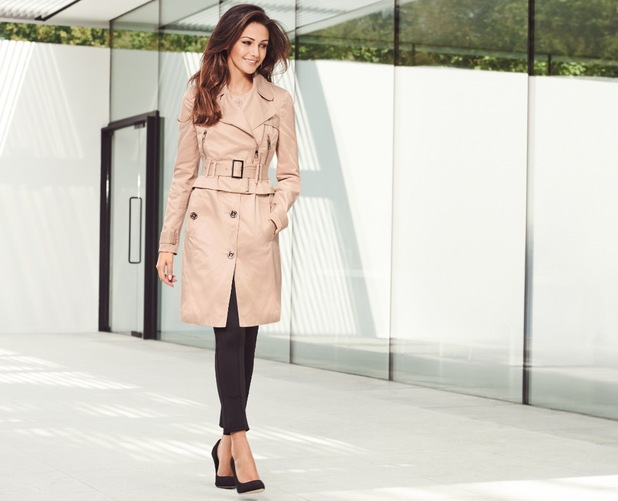 Michelle Keegan models her spring collection for Lipsy - 16 December 2014