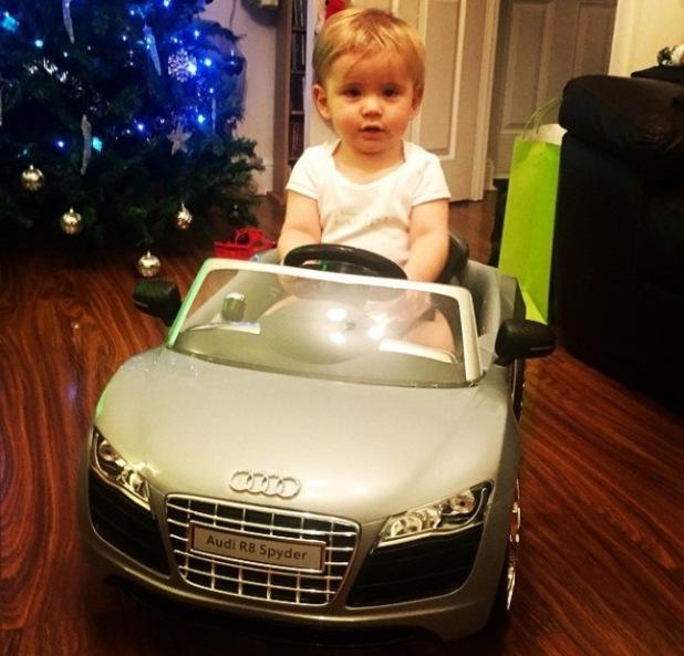 Dan Osborne buys Teddy a car for his birthday - 18 Dec 2014