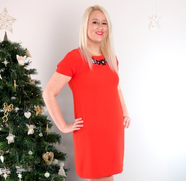 Stacey Gwyther, I went from a Christmas pudding to a right cracker