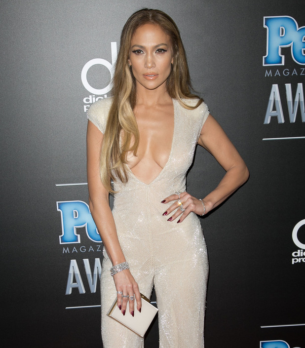 Jennifer Lopez attends the People Magazine Awards in Los Angeles, America - 18 December 2014