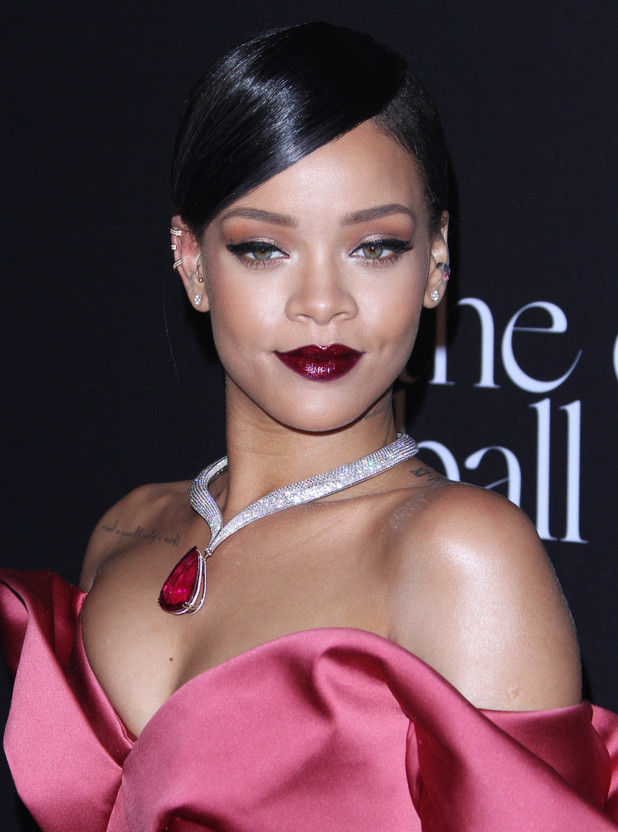 Rihanna attends the first annual Diamond Ball in Los Angeles, America - 12 December 2014