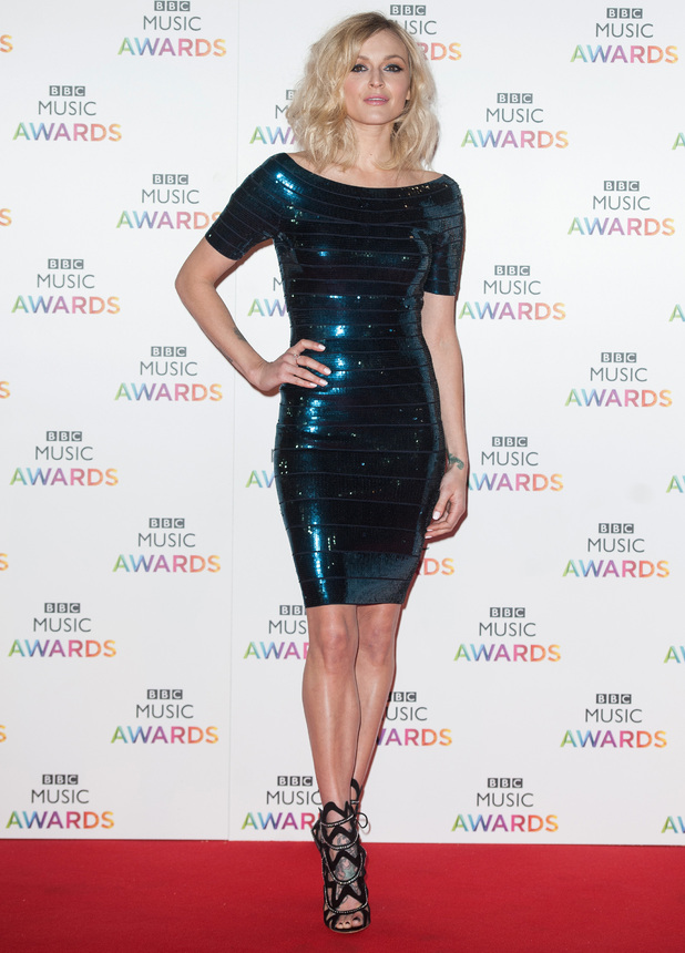 Fearne Cotton, BBC Music Awards held at the Earls Court Exhibition Centre, 11 December 2014