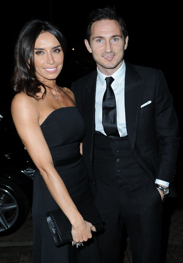 Christine Bleakley and Frank Lampard attend the James Milner Foundation Ball in Manchester - 30 November 2014