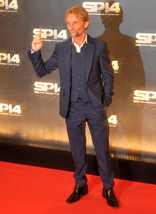 Carl Fogarty attends BBC Sports Personality Of The Year Award 2014 held at the SSE Hydro - Arrivals, 14 December 2014