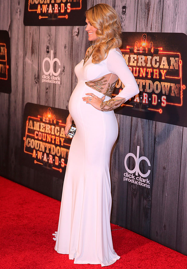 Carrie Underwood at the 2014 American Country Countdown Awards Red Carpet Arrivals at Music City Center Nashville, TN, 15 December 2014