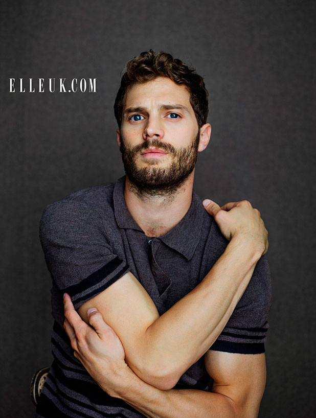 See Jamie Dornan's full photo shoot and interview in the February issue of ELLE UK On sale 2nd January 2015