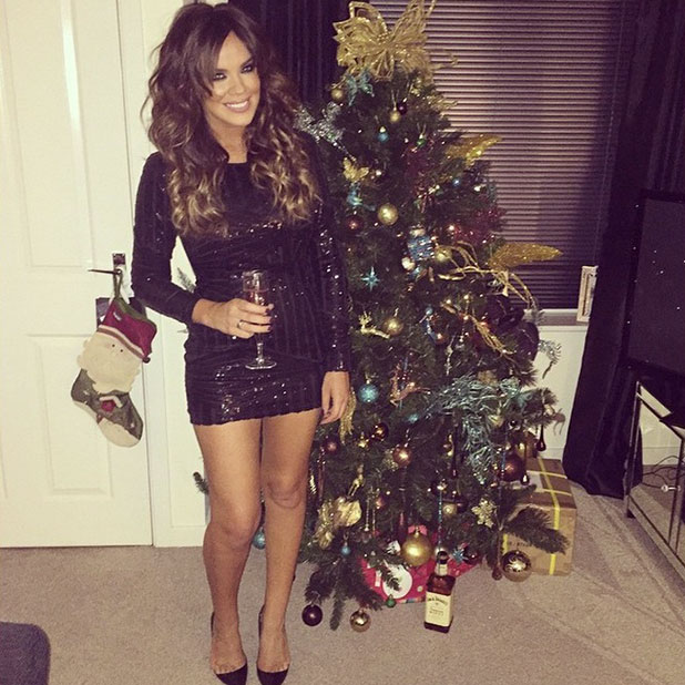 TOWIE's Maria Fowler tweets picture ahead of Derby night out, 13 December 2014