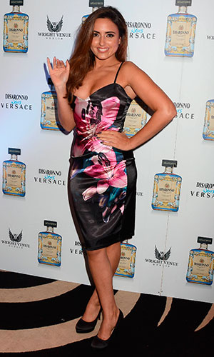 Nadia Forde at the Disaronno wears Versace event at The Wright Venue in Dublin. 18 December 2014