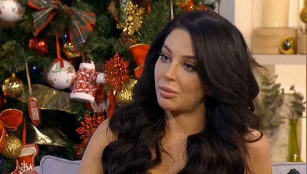 Tulisa appearing on ITV's This Morning, 17 December 2014