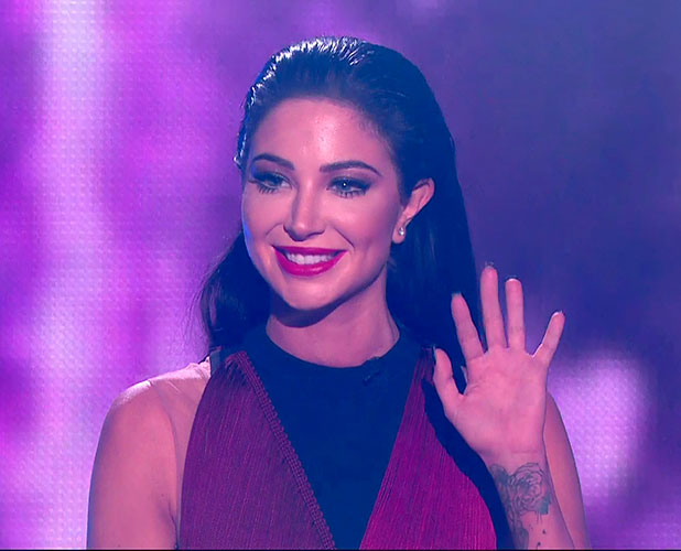 Tulisa Contostavlos returns to X Factor for 2014 finale