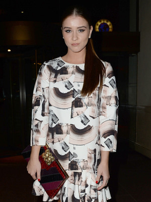 Brooke Vincent Soul Legends' event to benefit the Mood Swings charity, at the Midland Hotel, Manchester 18 October
