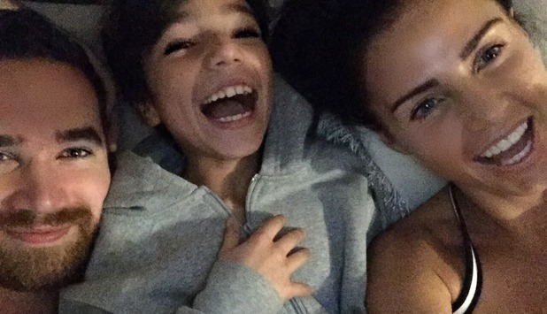 Katie Price shares cute family photos from Boxing Day at her mum's, 26 December 2014
