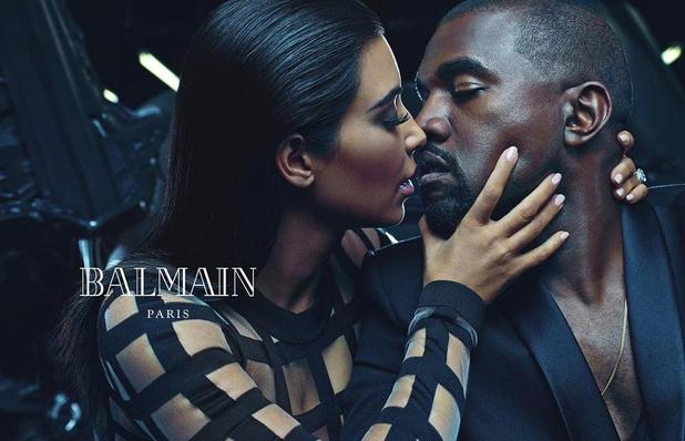 Kim Kardashian and Kanye West announced as the new faces of Balmain for SS15 campaign. 22 December 2014.