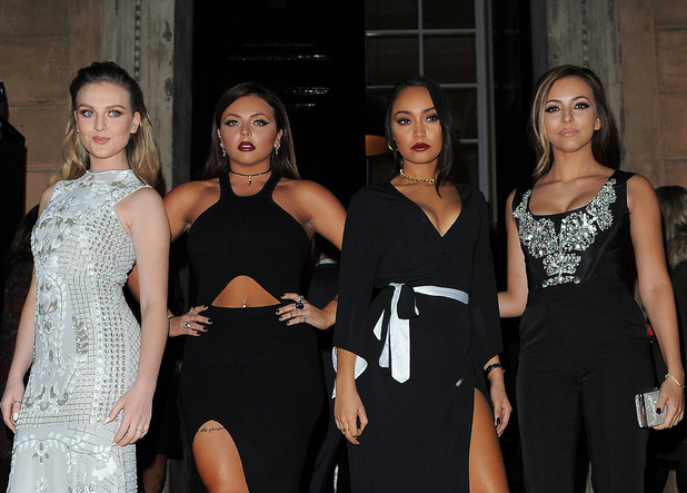 Little Mix, Cosmopolitan's Ultimate Women of the Year Awards at One Mayfair - Arrivals, 3 December 2014