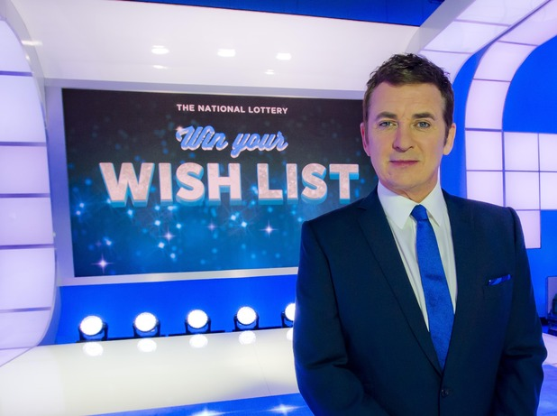 Shane Richie on The National Lottery: Win Your Wish List - 27 December.