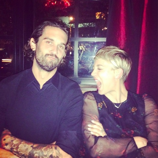 Kaley Cuoco shares loved-up photo with husband Ryan Sweeting, Christmas Day 2014