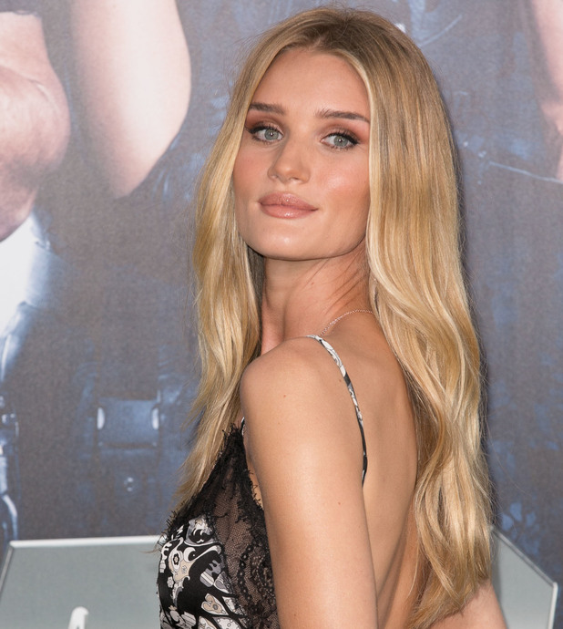 Rosie Huntington-Whiteley, 'The Expendables 3' Premiere held at the TCL Chinese Theatre - Arrivals, 11 August 2014