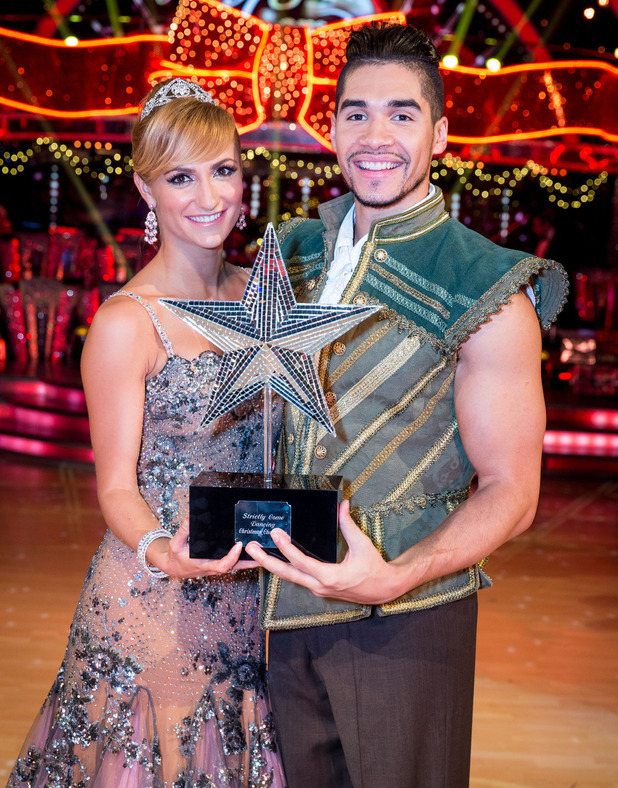 Aliona Vilani, Louis Smith crowned Strictly Come Dancing winners - Christmas Special 2014: