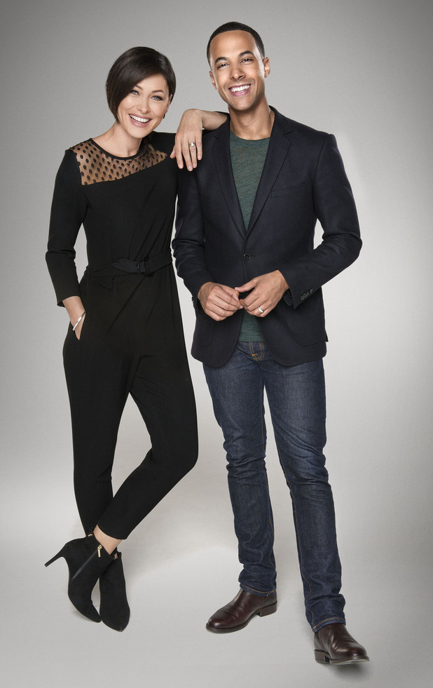 The Voice UK presenters - promo pic. 18 December.