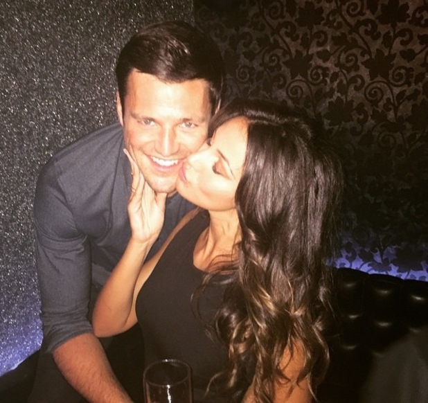 Mark Wright and Michelle Keegan in Dubai 1 January 2015