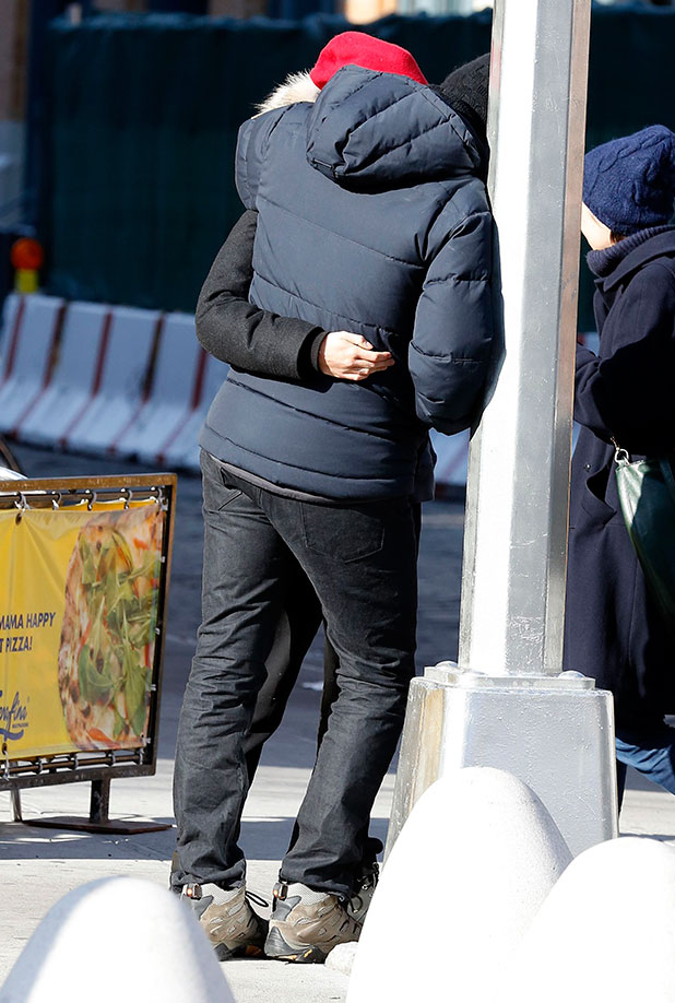 Bradley Cooper and Suki Waterhouse out and about, New York, America - 31 Dec 2014