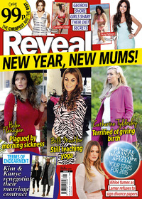 Reveal magazine issue one 2015, cover