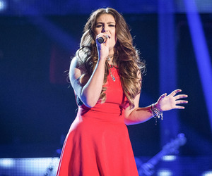 Kym Marsh's daughter Emilie Cunliffe performs on The Voice UK, 10 January 2015