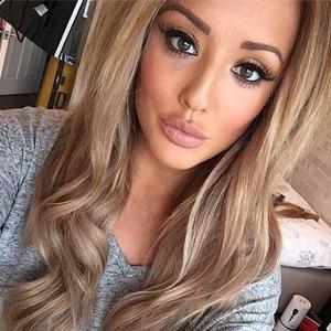 Charlotte Crosby selfie 17 December 2014