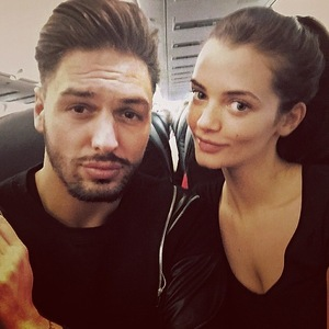 Mario Falcone and Emma McVey head on holiday 8 January