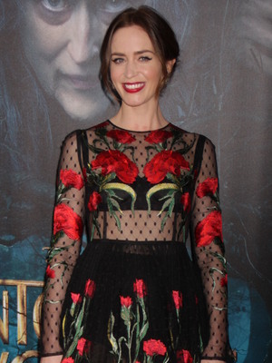 Emily Blunt attends premiere of Into The Woods in New York 8 December 2014