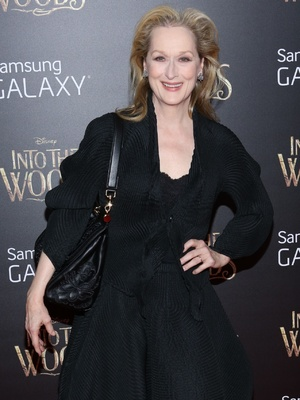 Meryl Streep attends Into The Woods premiere in New York 8 December 2014