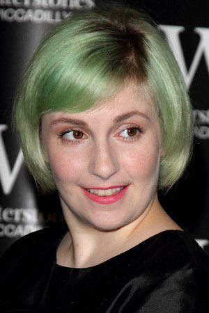 """Lena Dunham launches her new book """"Not that kind of Girl"""" at Waterstones Piccadilly, London, 29 October 2014"""