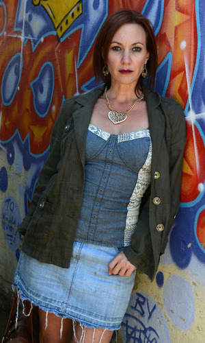 EastEnders character picture - Rainie Cross played by Tanya Franks.