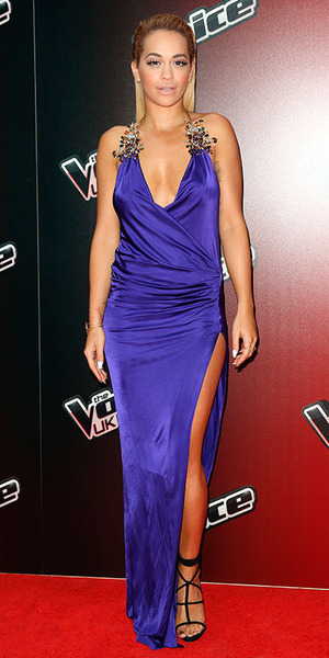 Rita Ora attend the launch of 'The Voice UK' Series 4 at The Mondrian Hotel on January 5, 2015 in London, England.