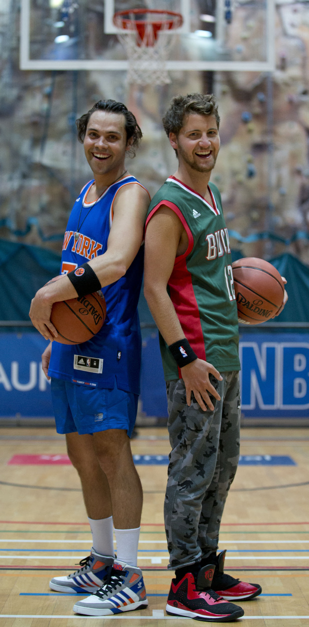Andy Jordan & Stevie Johnson NBA Promo Shots